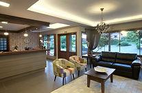 Recepção do Hotel Canto Verde em Gramado RS