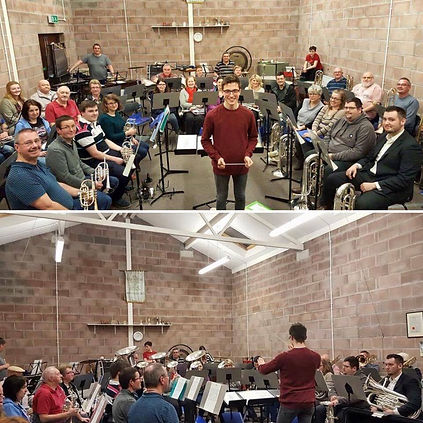 Andy Wareham Rogerstone Community Band