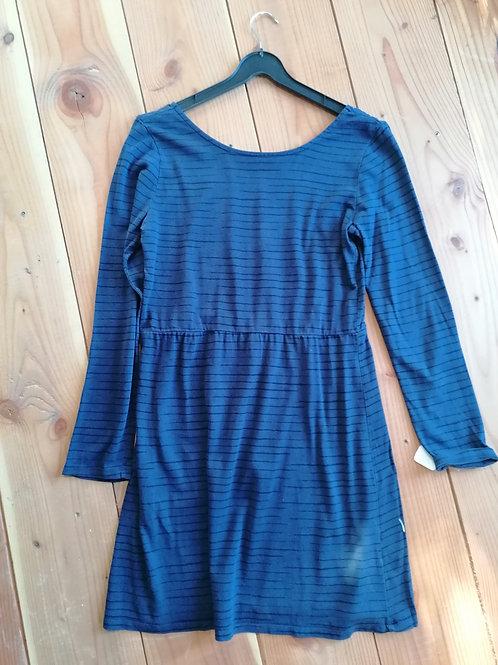 Robe courte femme bleu T40