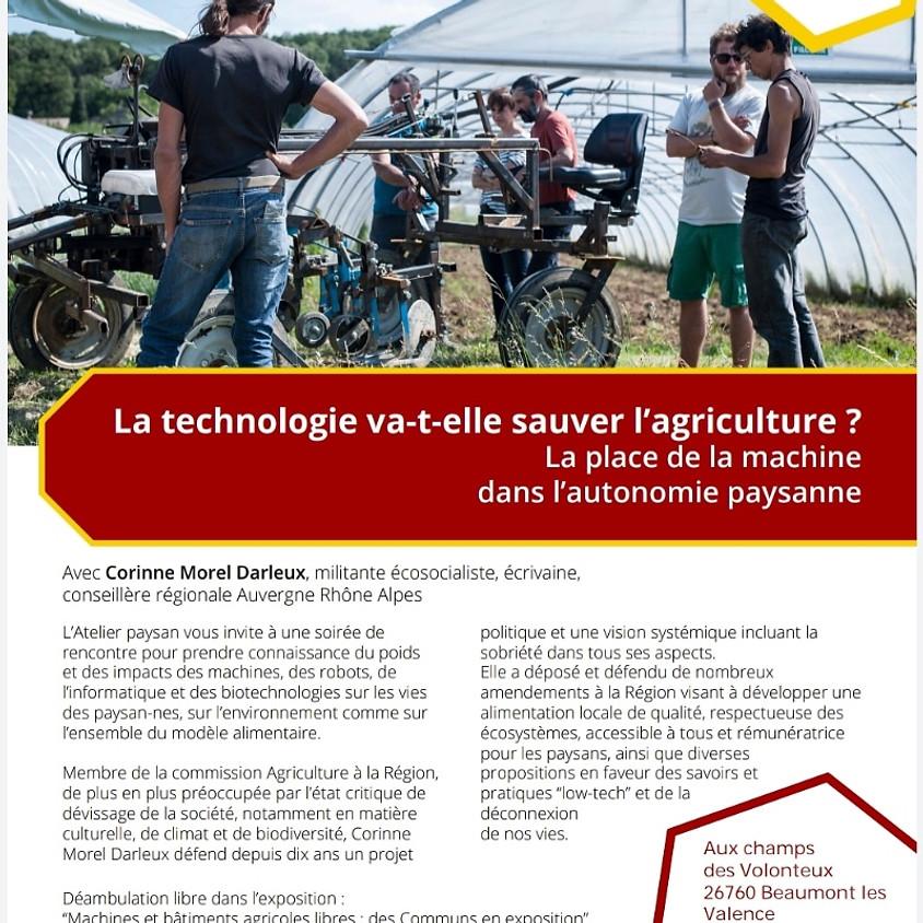 Conférence-débat : la technologie va-t-elle sauver l'agriculture ?