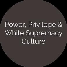 Power, Privilege, &White Supremacy Culture