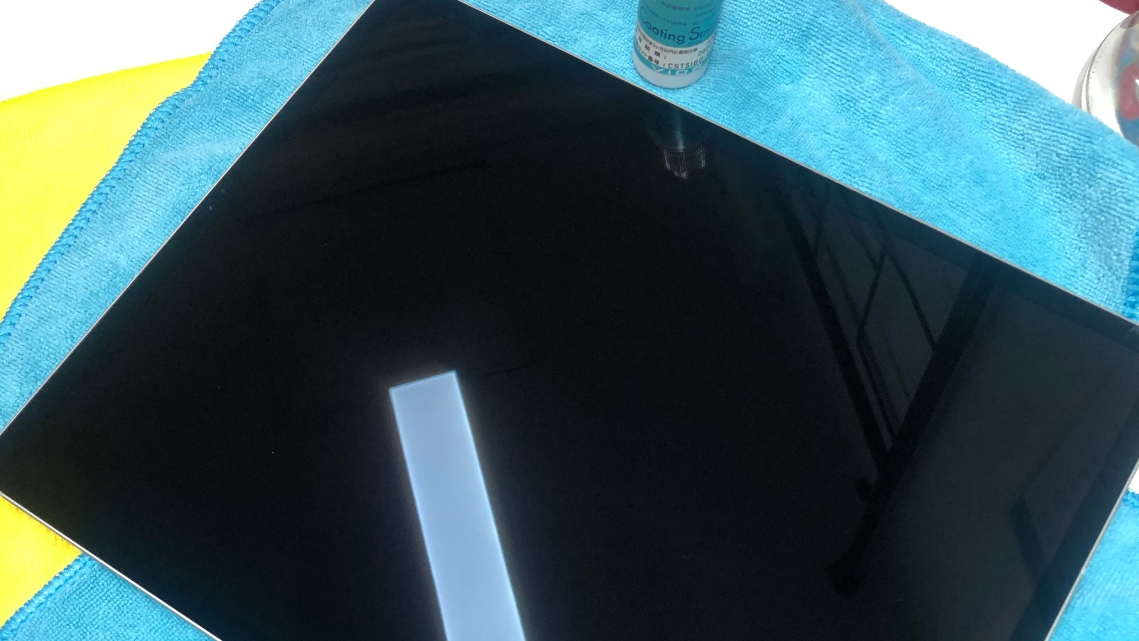 iPad PROガラスコーティング