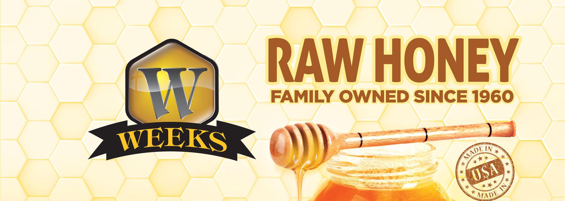 American Honey | Weeks Honey Farm | United States
