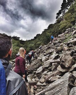 Walking in Snowdonia