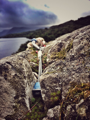 Climbing in Llanberis