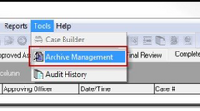 May 2021 Tips - Archive Management
