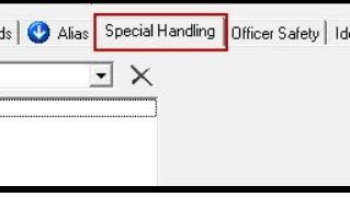 February 2021 Tips - Entering Special Handling Information
