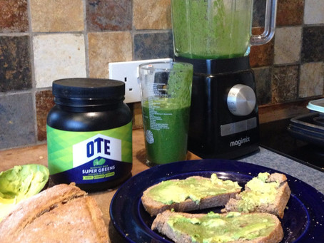 My Favourite Breakfast- Green power!