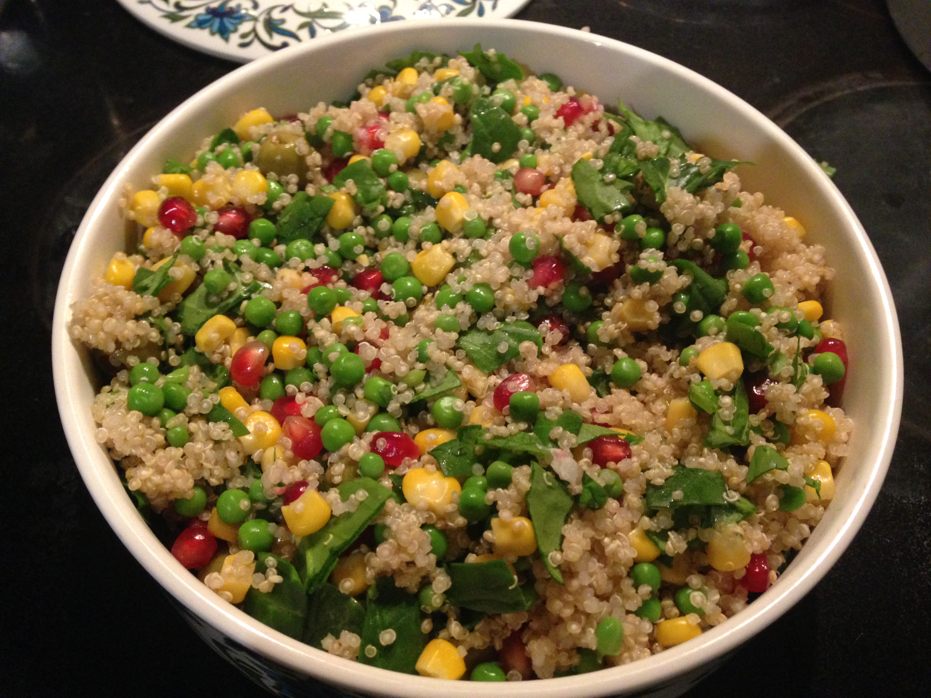 Ultimate red, green and yellow salad