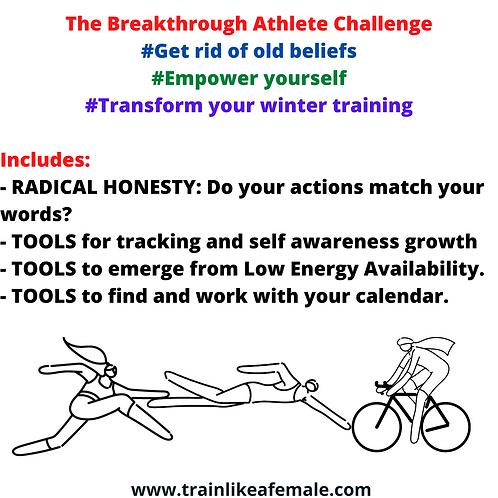 The Female Athlete Breakthrough Challenge