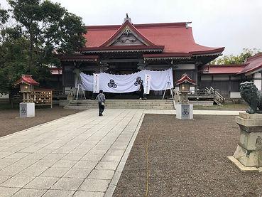 厳島神社 釧路でもっとも古い時代の建造物 1805年