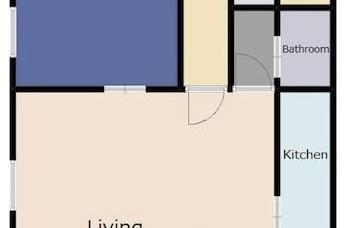 3階滞在用スペース間取り図