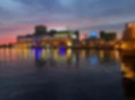 対岸の夕景 フィッシャーマンズワーフ