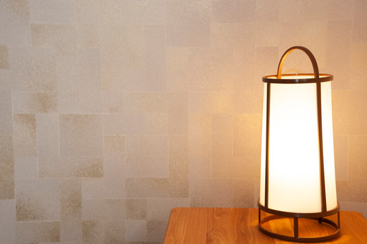 個室の灯り