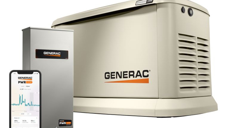 24KW HOME BACKUP GENERATOR W/ ATS