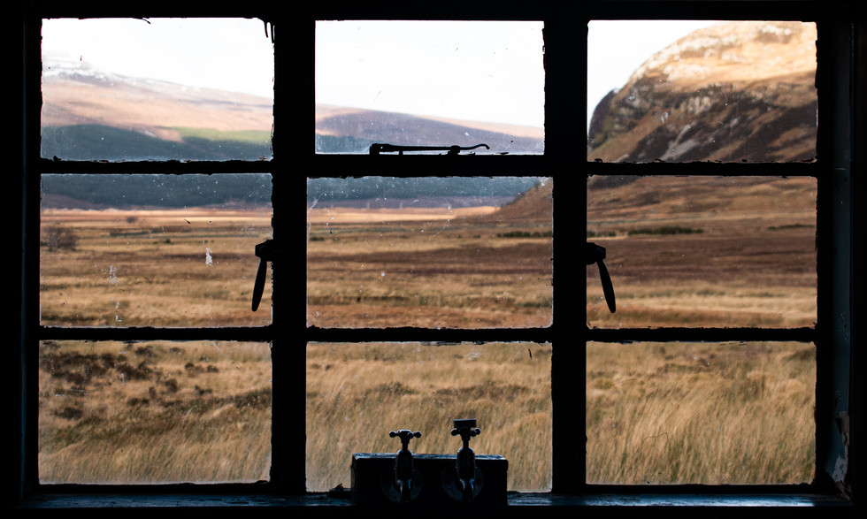 A series of digital and medium format film documenting a road-trip around the north coast of Scotland, exploring the bothies of the Highlands.
