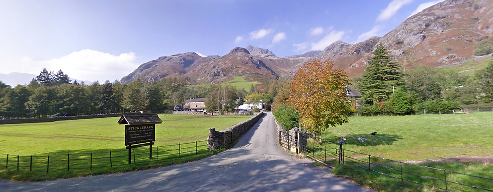 Great Langdale Bunkhouse - Drive