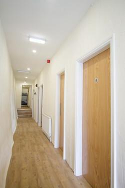 Corridor from wall