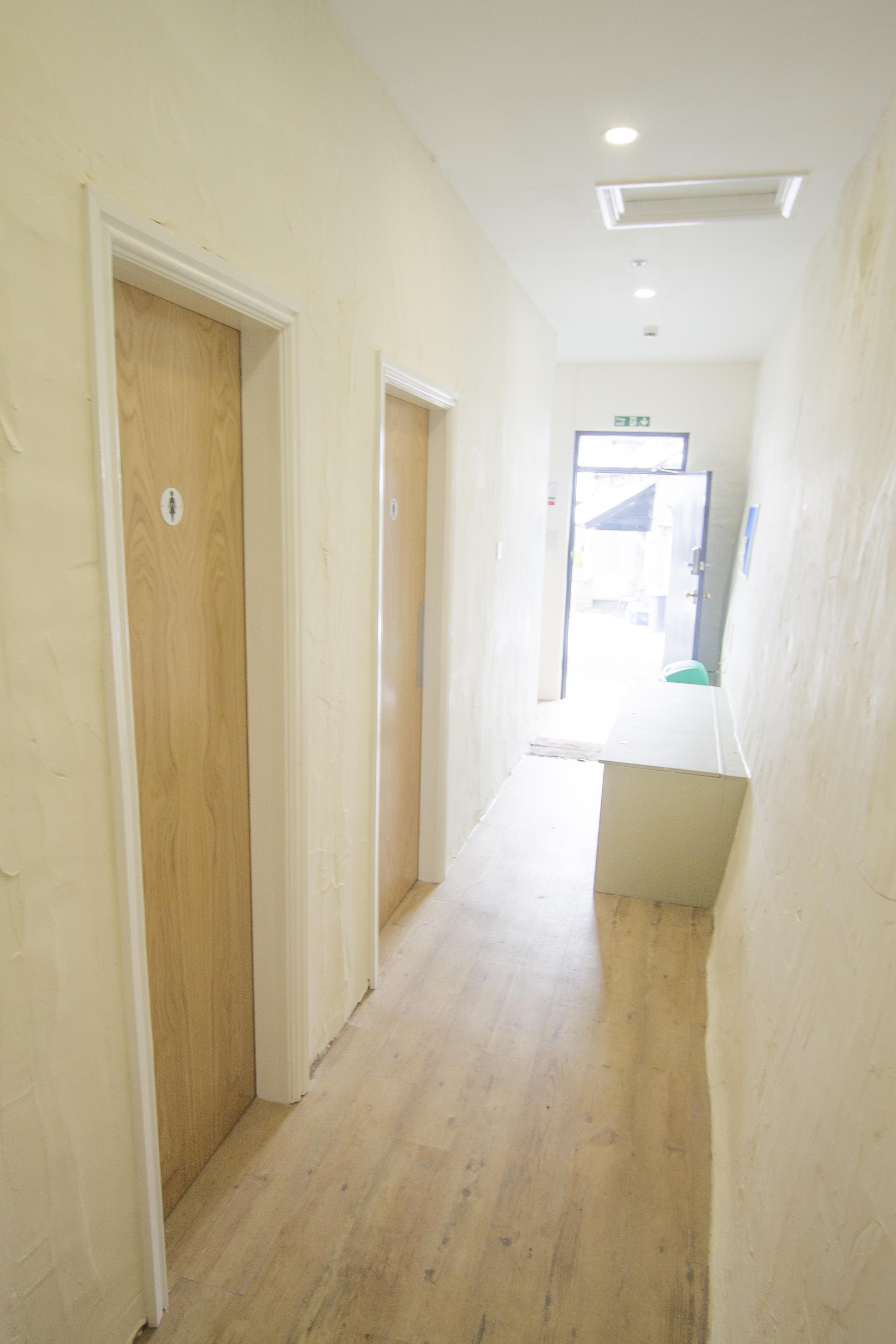 Corridor to front door