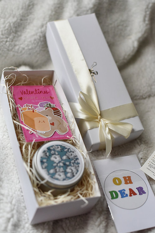 Gift Set Sticker + Candle