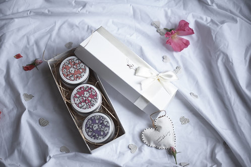 3 Candles + Heart, Gift Set
