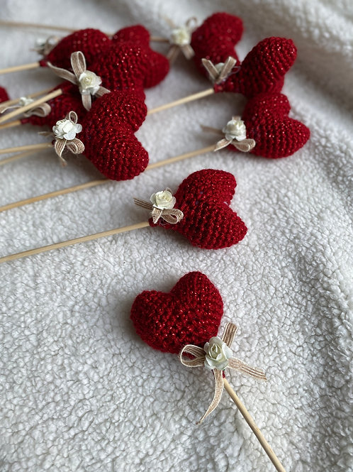 Handmade Crochetier Hearts