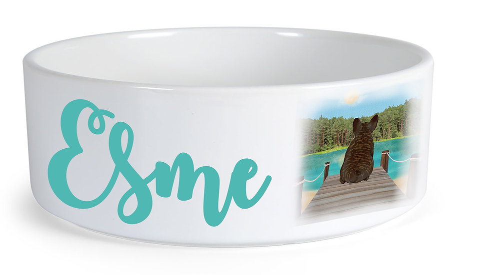 Small Personalised Dog Bowl