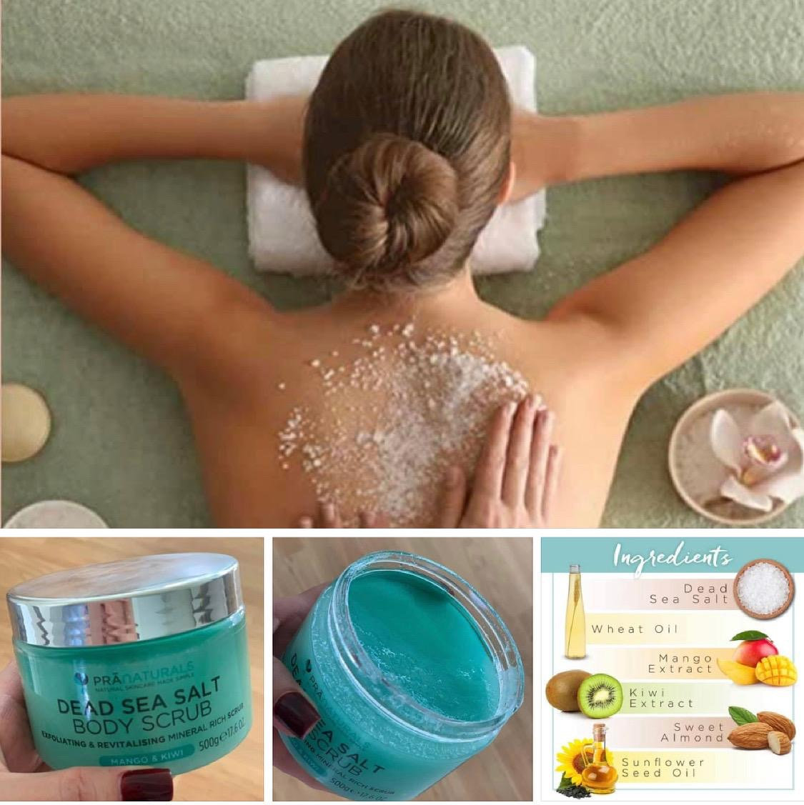 Meersalz-Peeling Massage