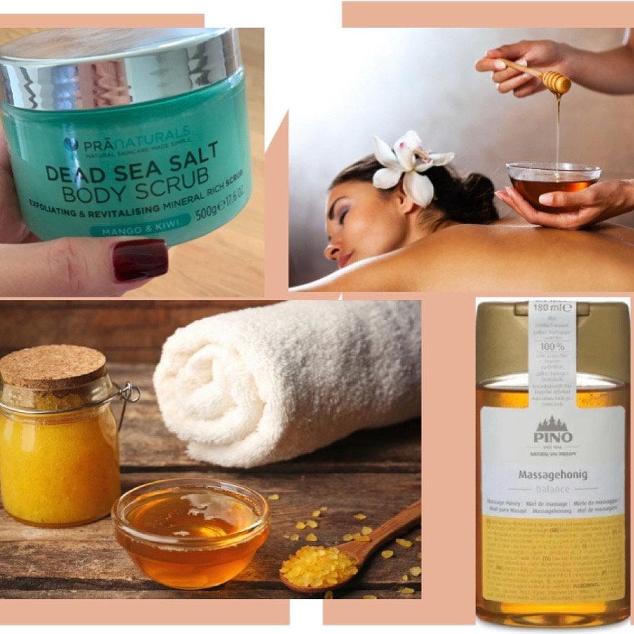Ganzkörper-Honigmassage