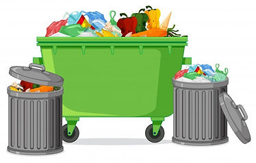 isolated-trash-container-white-backgroun