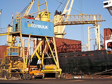 egybulk monash pneumatic ship unloader