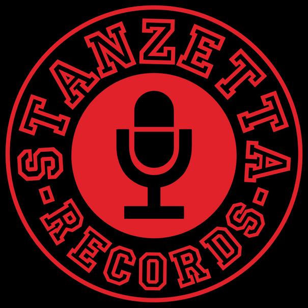 Stanzetta Records - Logo Redesign BLACK