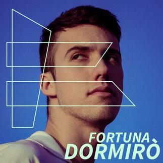 "Fortuna - ""Dormirò"" EP Artwork"