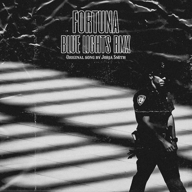 "Fortuna - ""Blue Lights RMX"" Single Artwork"