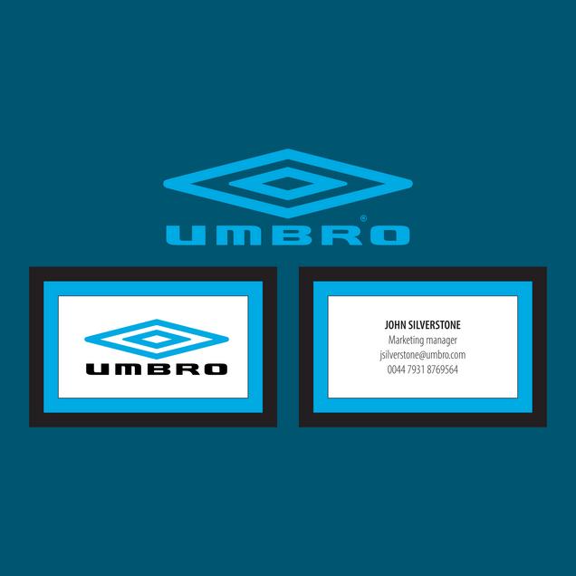 Umbro - Business Cards Redo