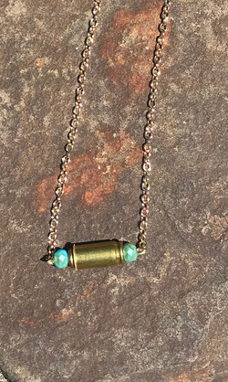 necklace cartridge with faceted aqua sto