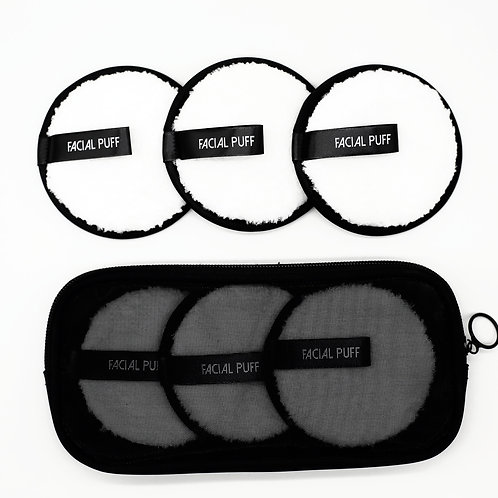 Washable Make-Up Remover Pads With Laundry Bag
