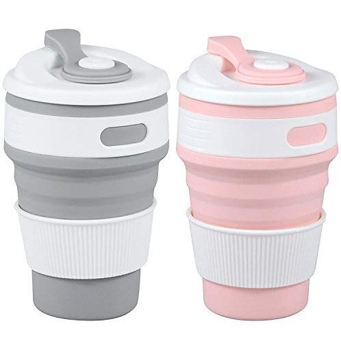 Reusable, Portable and Foldable Hot and Cold Drink Cup