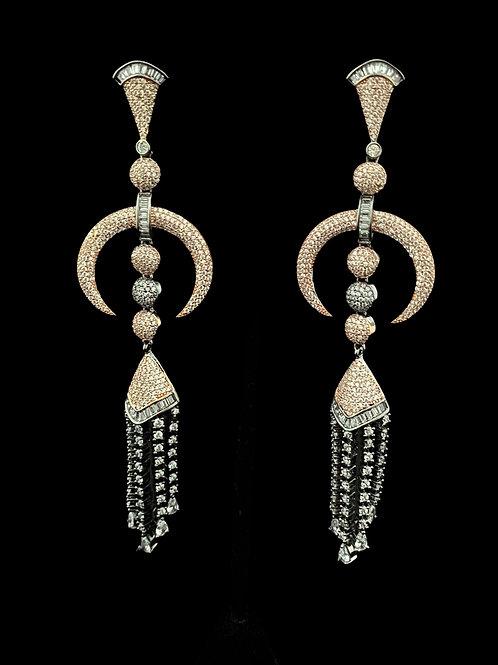 Bohemian Melange Fringe Earrings