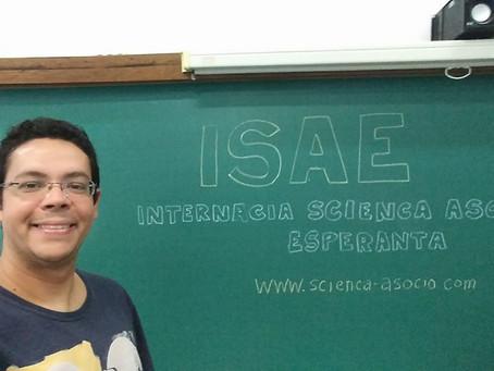 ISAE prezentiĝas dum Nacia Kongreso de Esperanto