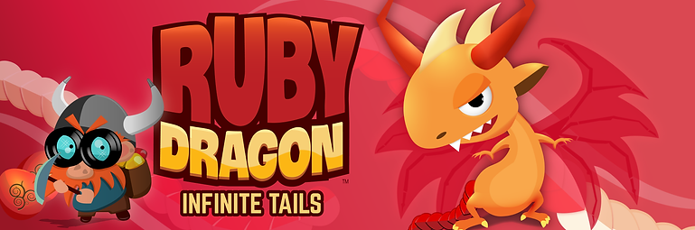 Ruby Dragon Infiite Tail Banner