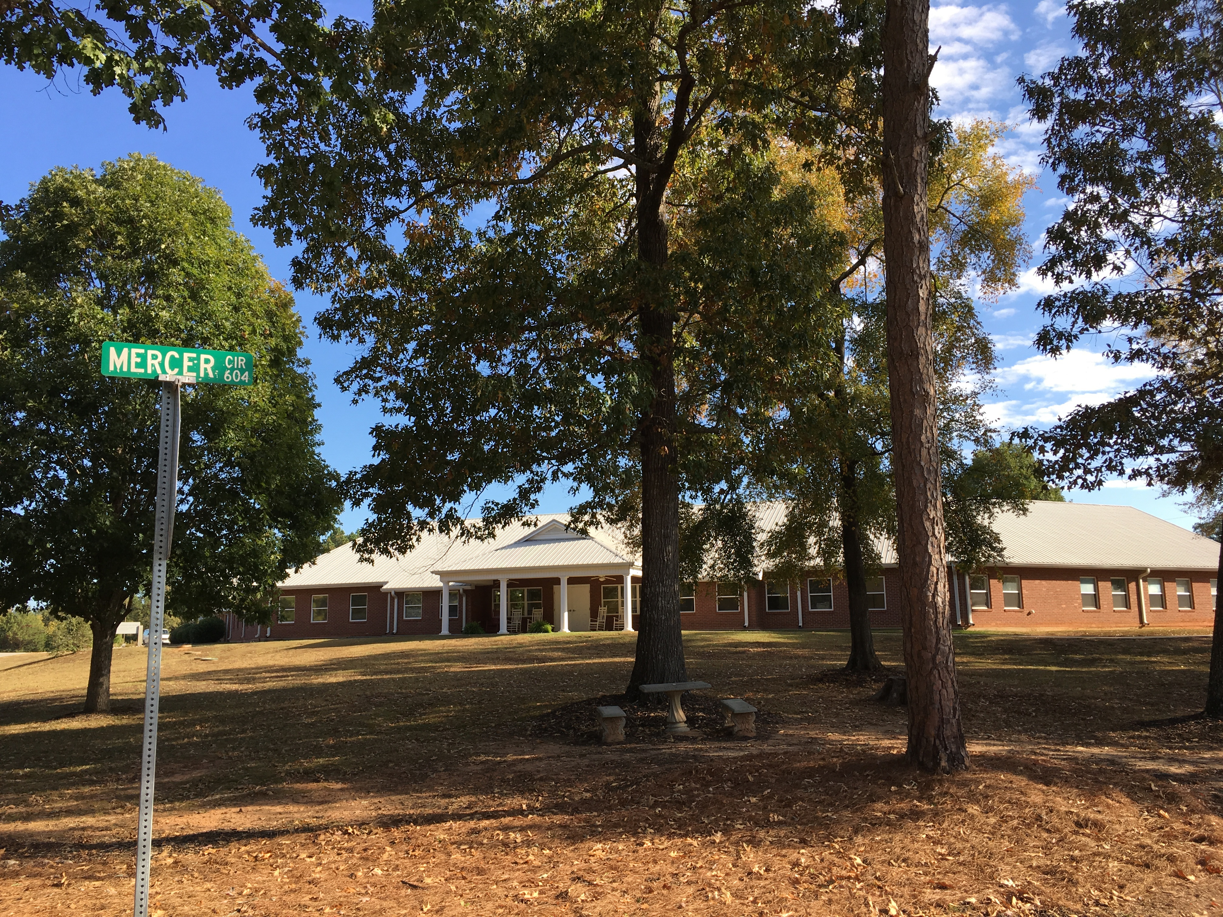 PCH Mercer Road Sign