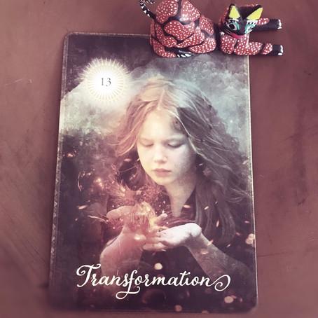 Major Arcana; Death, Transformation # 13