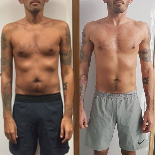 Miguel before & After 4 Months