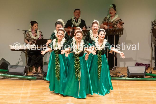 Group Kūpuna ʻAuana - Hālau Hula O Ishibashi