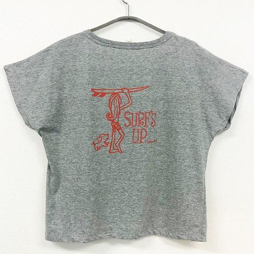 ドルマンスリーブTシャツ(Surf Girl)