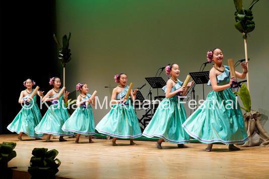 Group Kaikamāhine ʻAuana - Hālau Ka Waikahe Lani Mālie Shonan