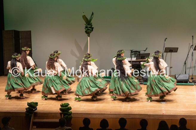 Group Wahine Kahiko Nei - Hālau Kīhene Pua Uluwehi