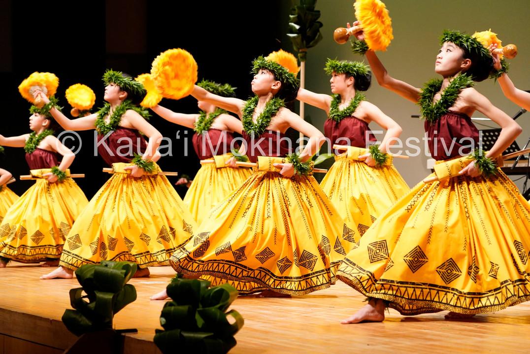 Group Kaikamāhine Kahiko Nei - Hālau Hula Nanea I Kou Nani