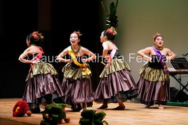 Group Wahine ʻAuana - Hālau Hula O Puaʻena